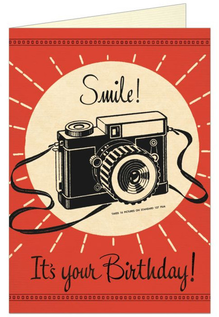 Cavallini & Co: Camera Birthday Smile