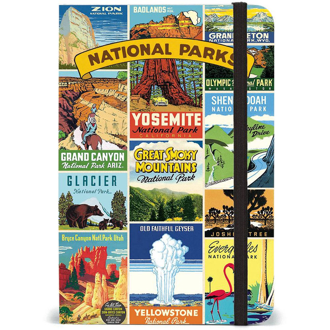 Cavallini & Co: National Parks Small Notebook
