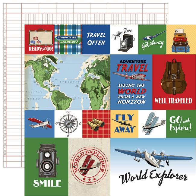 Our Travel Adventure: Journaling Cards