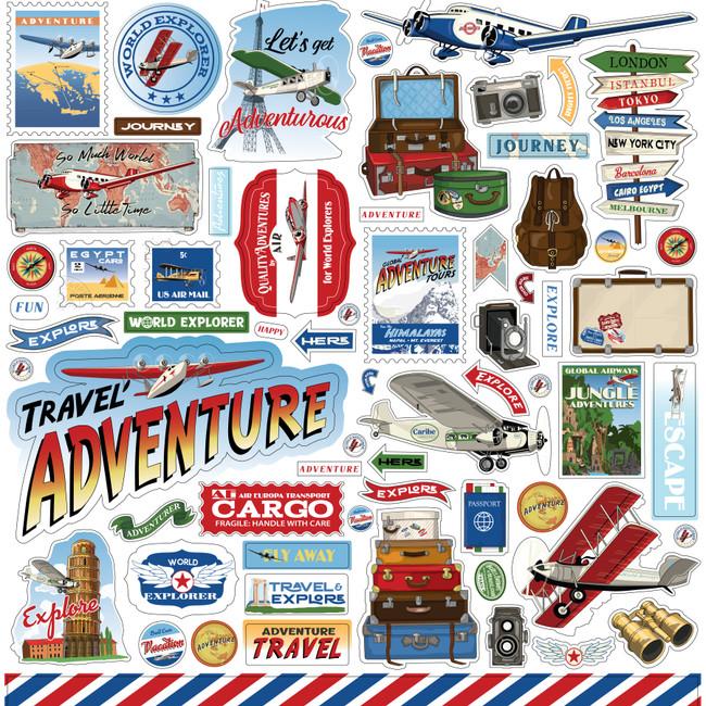 Our Travel Adventure: Element Sticker