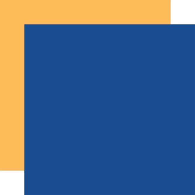 Our Travel Adventure: Designer Solids - Blue/Yellow