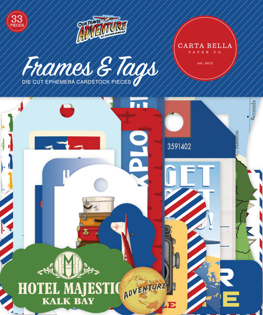 Our Travel Adventure: Frames & Tags