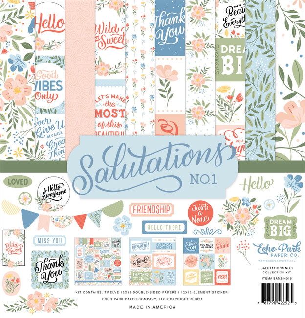 Salutations No. 1 Collection Kit