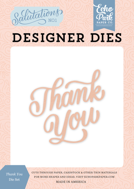 Salutations No. 1: Thank You Die Set