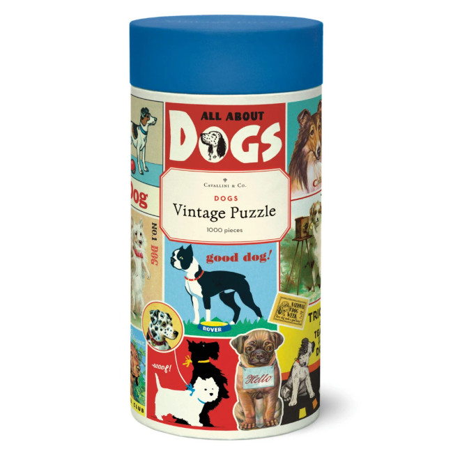 Cavallini & Co: Dogs 1000 Piece Puzzle