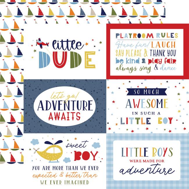 Little Dreamer Boy: 6x4 Journaling Cards