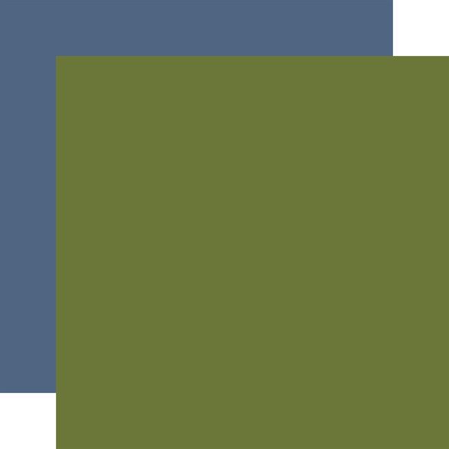 Little Dreamer Boy: Designer Solids - Green/Blue