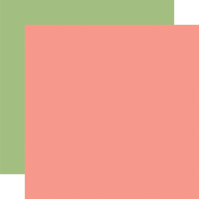 Little Dreamer Girl: Designer Solids - Pink/Green