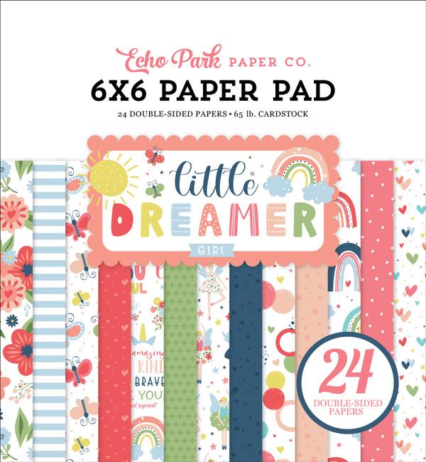 Little Dreamer Girl: 6x6 Paper Pad