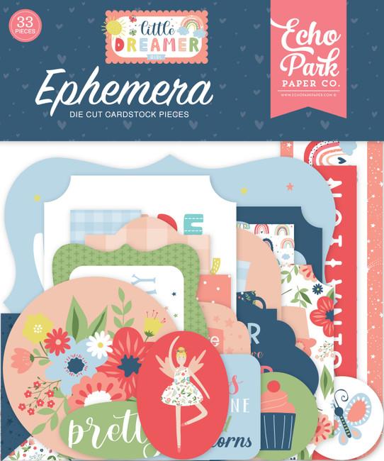 Little Dreamer Girl: Girl Ephemera