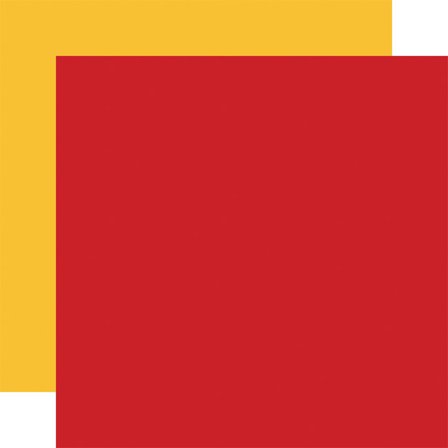 A Magical Place: Designer Solids - Red/Yellow