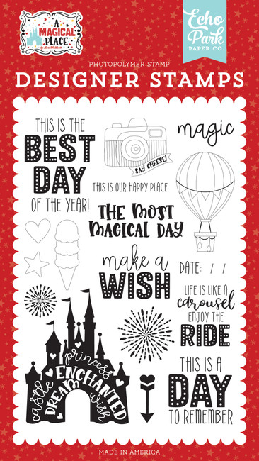 A Magical Place: Our Happy Place Stamp Set