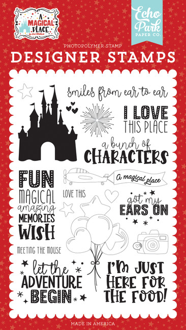 A Magical Place: Smiles From Ear To Ear Stamp Set