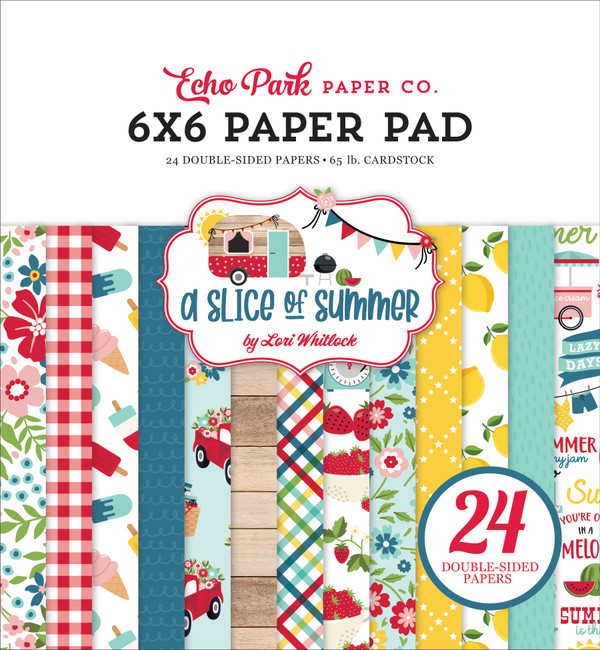 A Slice of Summer: 6x6 Paper Pad