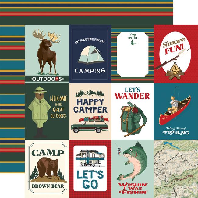 Outdoor Adventures: 3x4 Journaling Cards