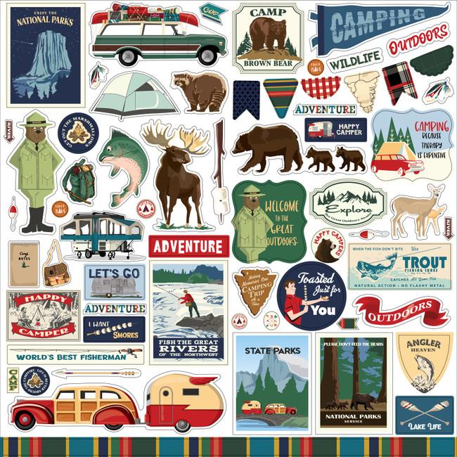 Outdoor Adventures: Element Sticker