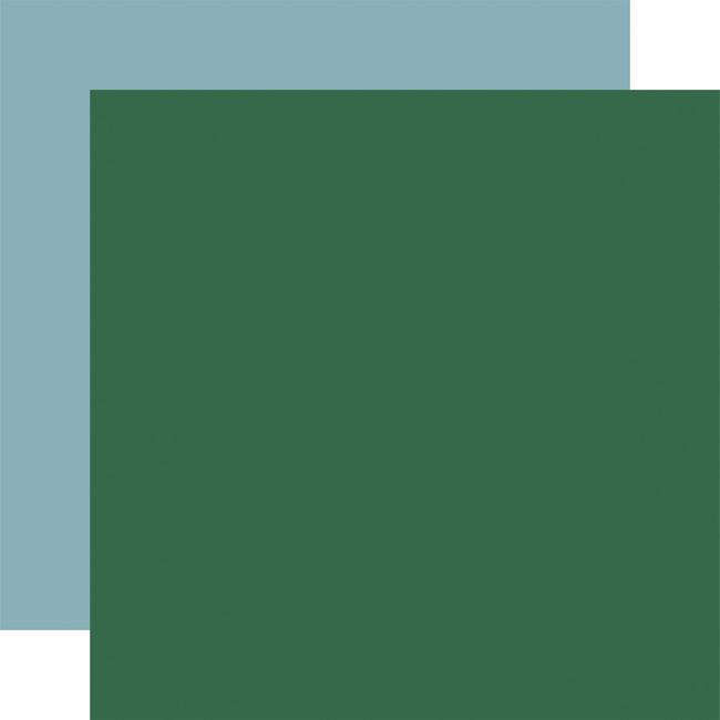 Outdoor Adventures: Designer Solids - Green/Light Blue