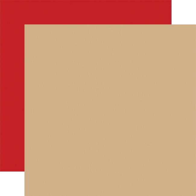 Outdoor Adventures: Designer Solids - Tan/Red