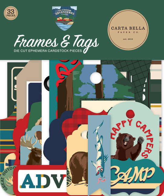 Outdoor Adventures: Frames & Tags