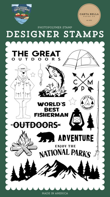 Outdoor Adventures: The Great Outdoors Stamp Set