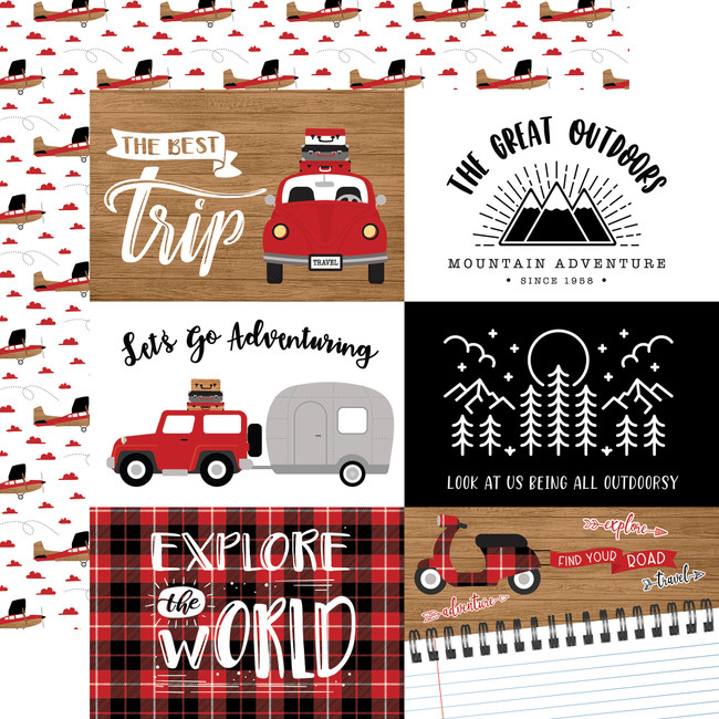 Let's Go Anywhere: 6x4 Journaling Cards
