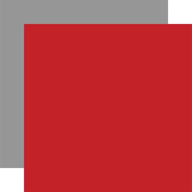Let's Go Anywhere: Designer Solids - Red/Light Gray