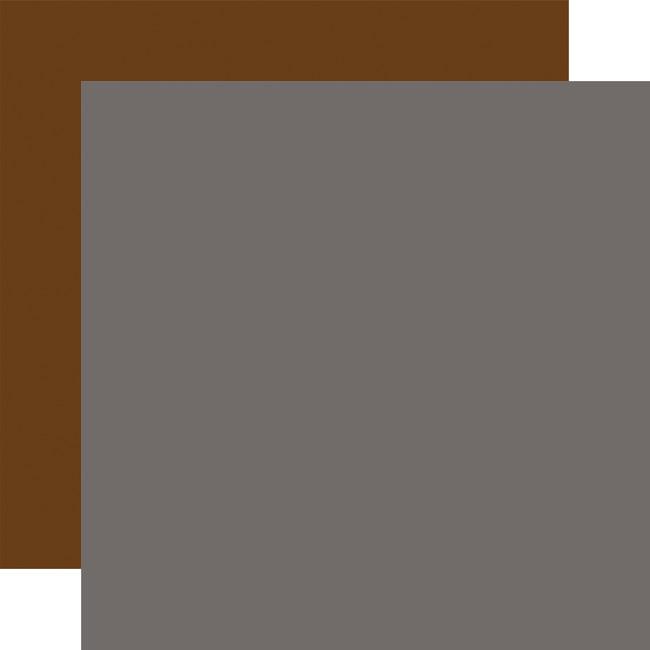 Let's Go Anywhere: Designer Solids - Dark Grey/Dark Brown