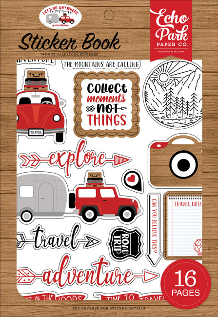 Let's Go Anywhere: Sticker Book