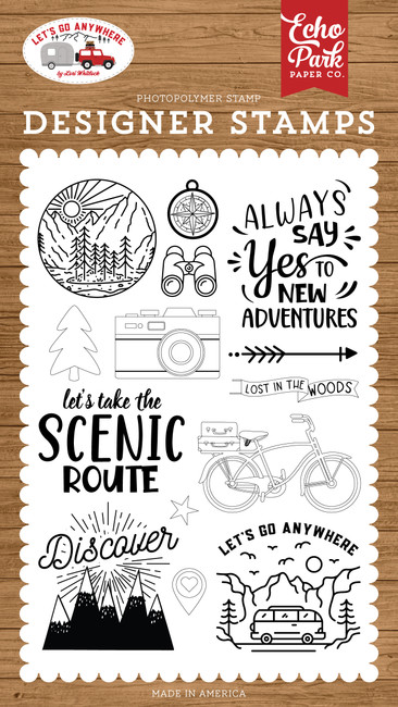 Let's Go Anywhere: New Adventures Stamp Set