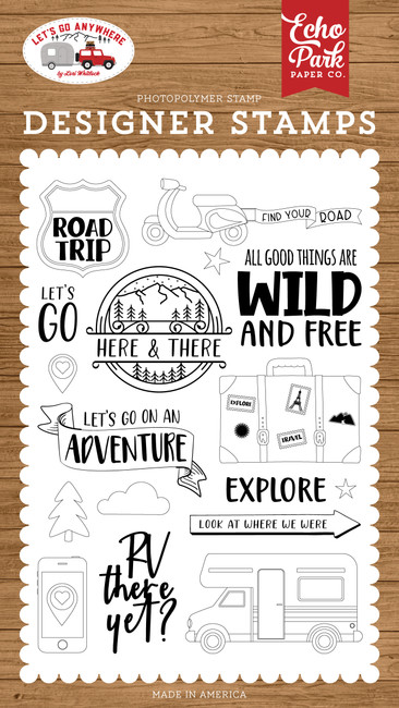Let's Go Anywhere: Road Trip Stamp Set
