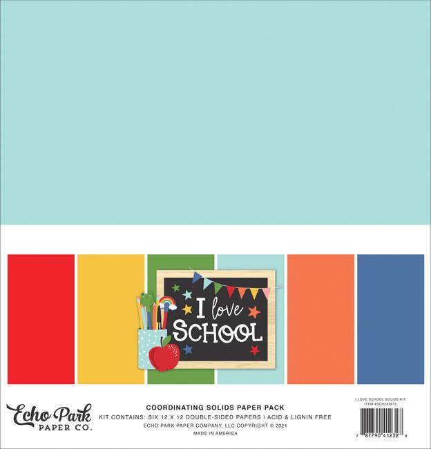 I Love School: Solids Kit
