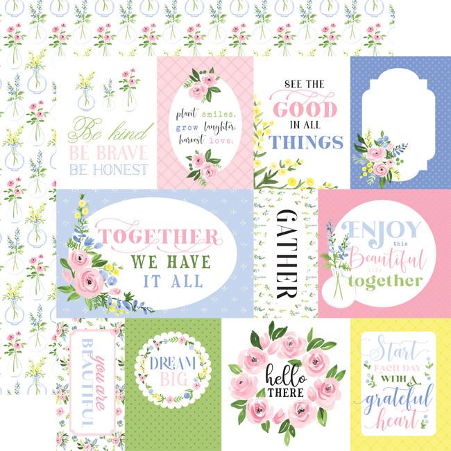Flora no. 4: Pastel Journaling Cards