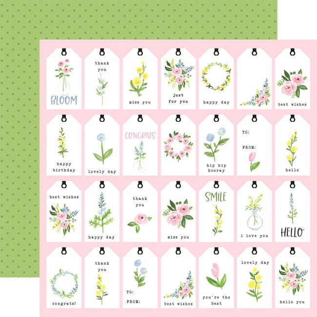 Flora no. 4: Pastel Tags