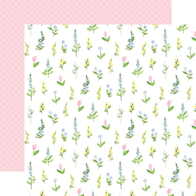 Flora no. 4: Pastel Stems