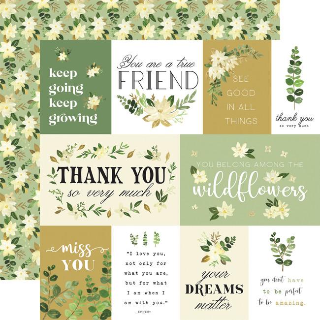 Flora no. 4: Natural Journaling Cards