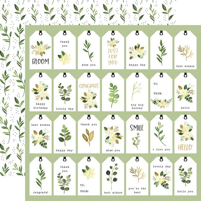 Flora no. 4: Natural Tags