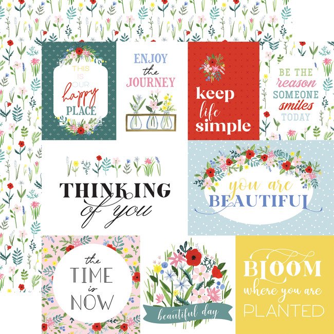 Flora no. 4: Bold Journaling Cards