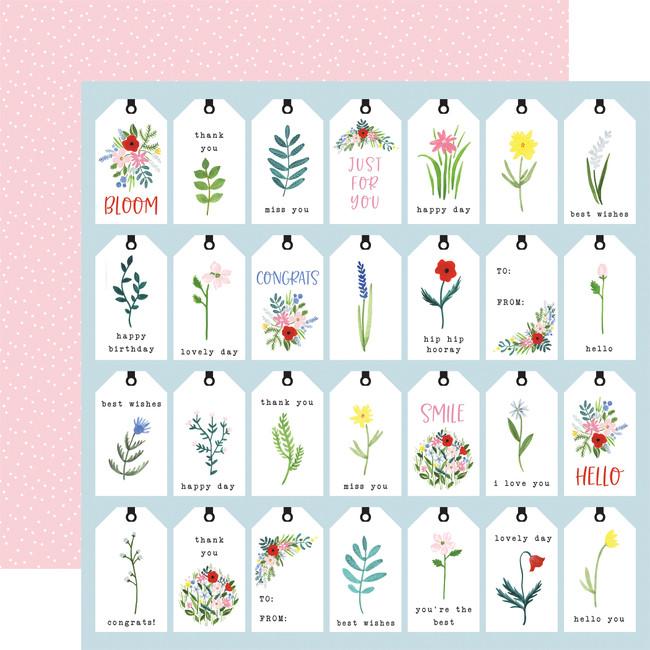 Flora no. 4: Bold Tags