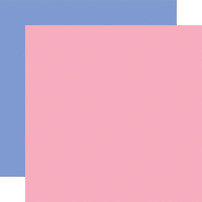 Flora no. 4: Designer Solids - Dark Pink/Blue