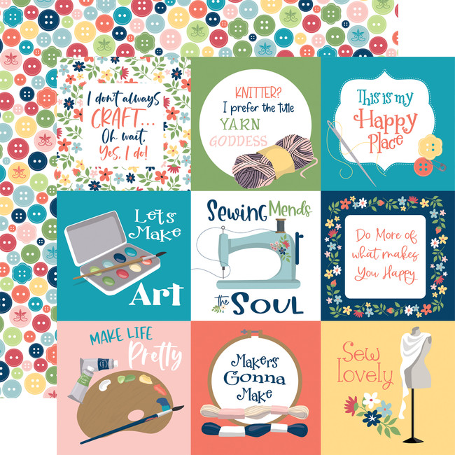 Craft & Create: 4x4 Journaling Cards