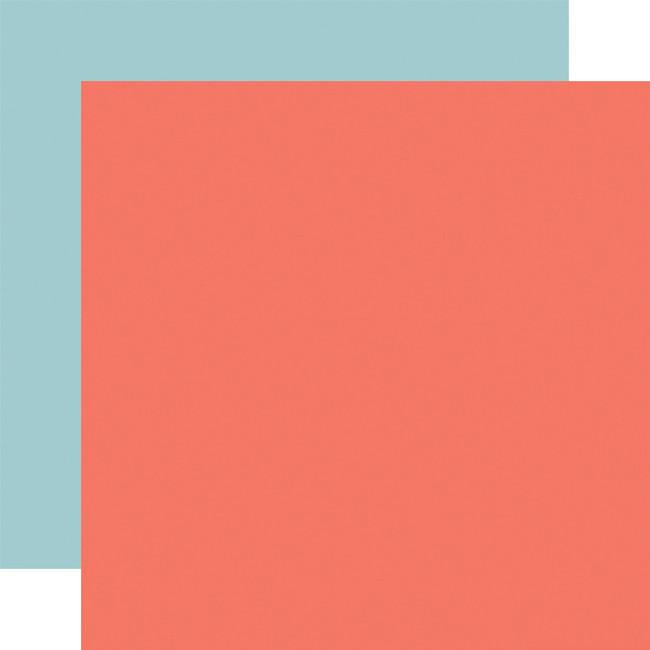 Craft & Create: Designer Solids - Dark Pink/Light Blue