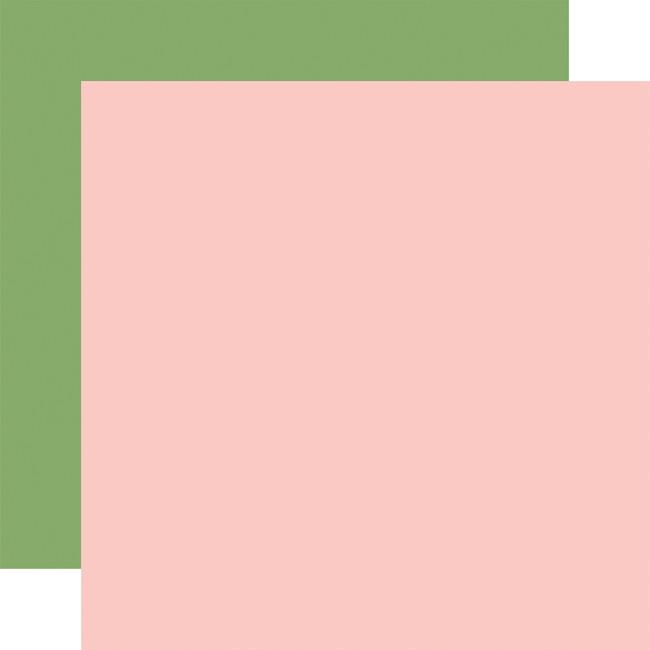 Craft & Create: Designer Solids - Light Pink/Green
