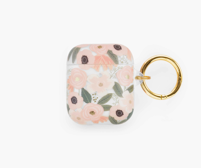 Rifle Paper Co. : AirPods Case Clear Wildflowers