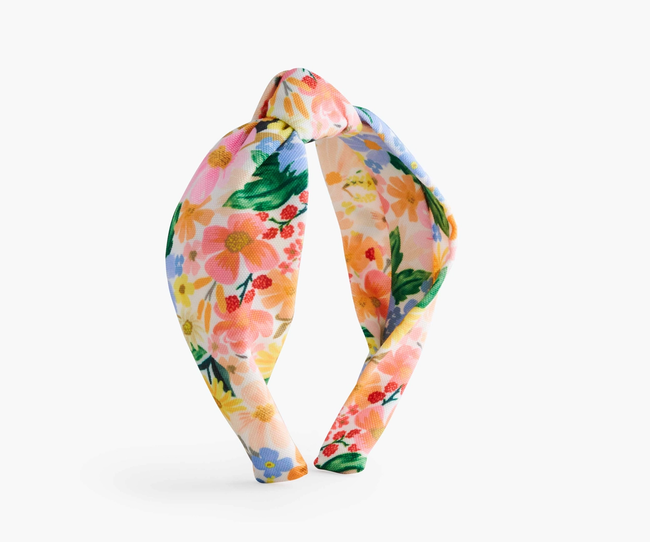 Rifle Paper Co: Marguerite Knotted Headband