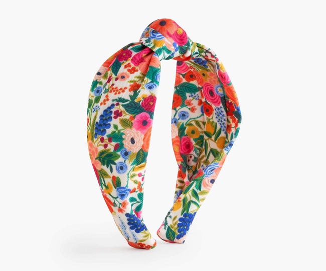 Rifle Paper Co: Garden Party Knotted Headband