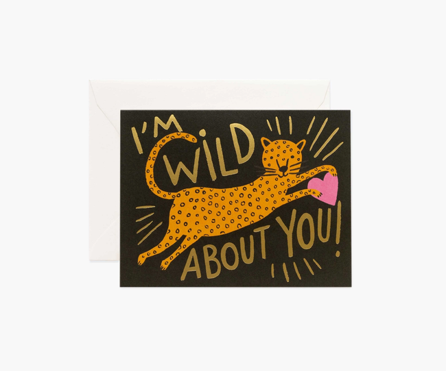 Rifle Paper Co: Wild About You- Single Card