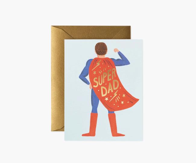 Rifle Paper Co: Super Dad- Single Card