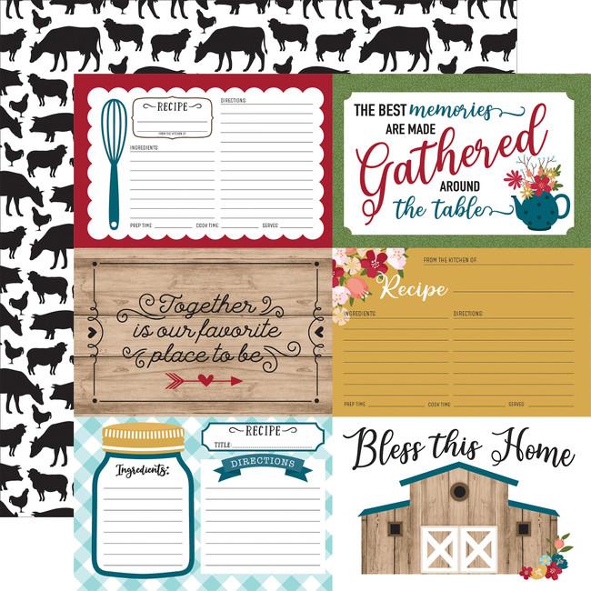 Farmers Market: 4x6 Journaling Cards