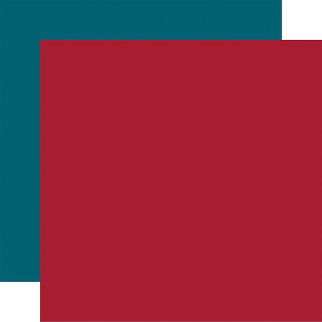Farmers Market: Designer Solids - Red/Blue