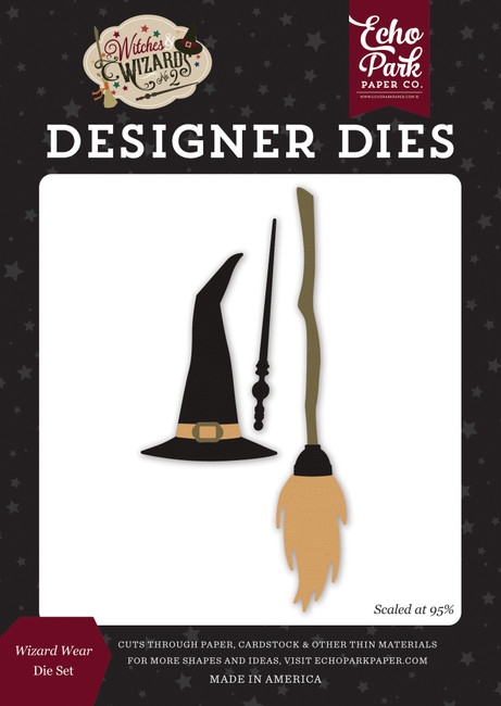 Witches and Wizards No. 2: Wizard Wear Die Set